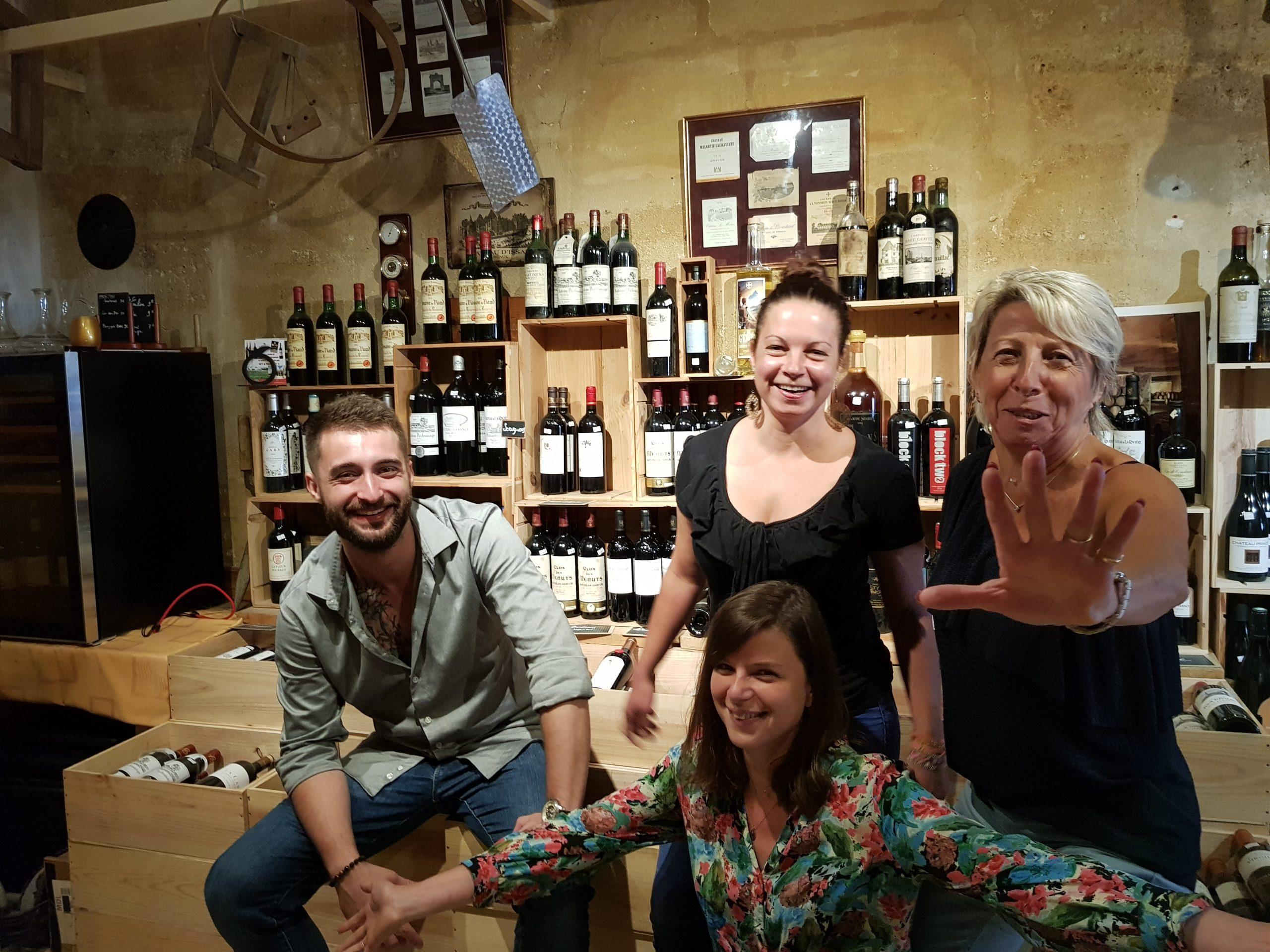 notre équipe -Le Bis restaurant charcuterie vin fromages st emilion