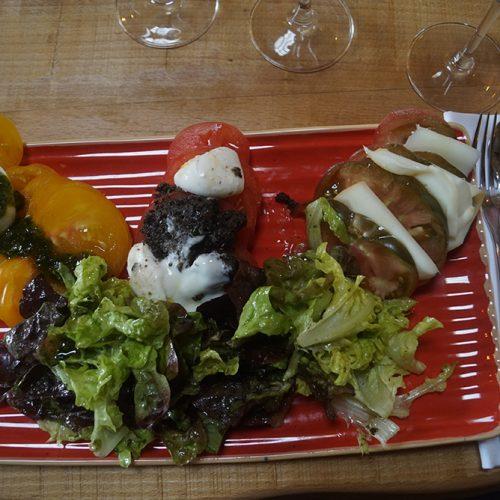 Le Bis restaurant charcuterie vin fromages st emilion